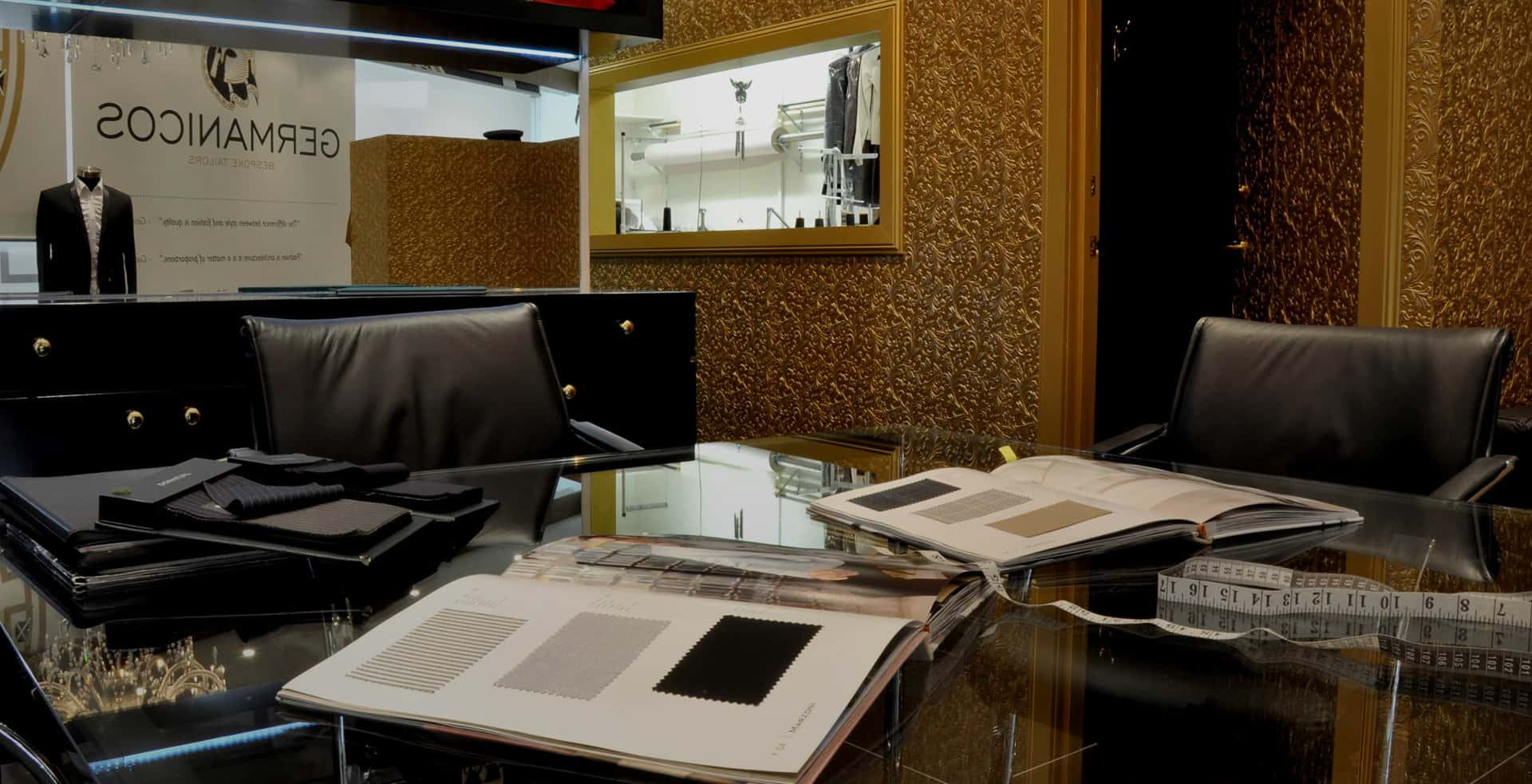 Germanicos bespoke tailor melbourne location office