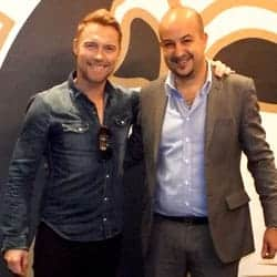 Germanicos Bespoke Tailors and Ronan Keating testimonial