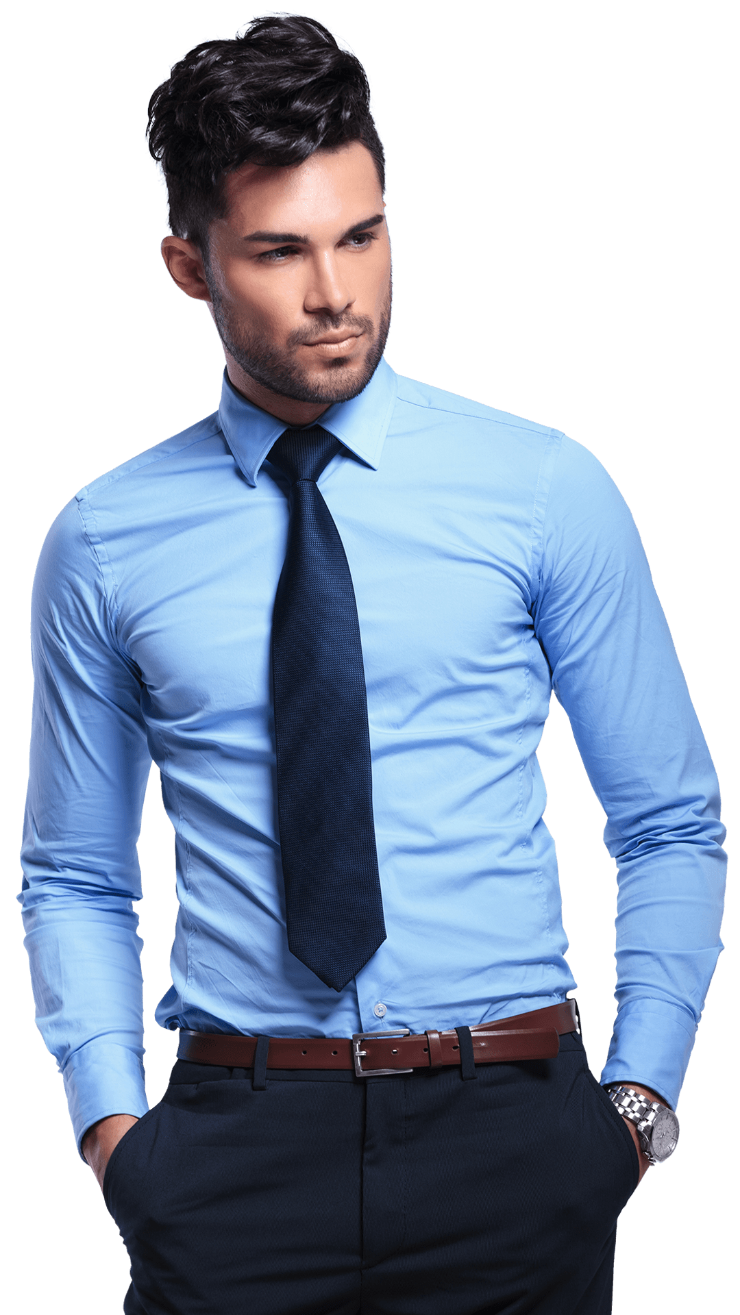 fitted bespoke shirt