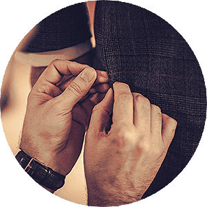 Germanicos Bespoke Tailors process Fittings